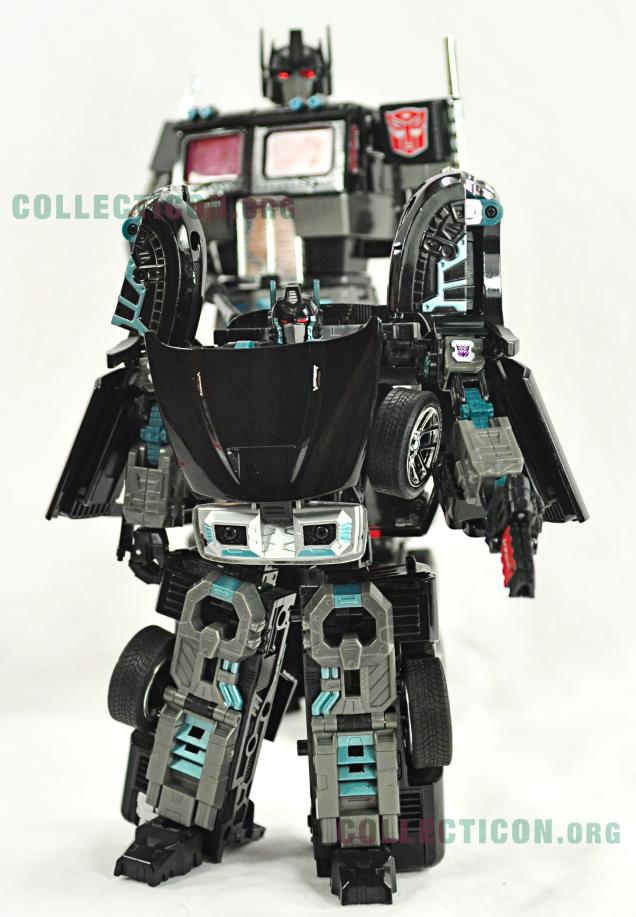 Takara Transformers Binaltech BT-17 Black Convoy