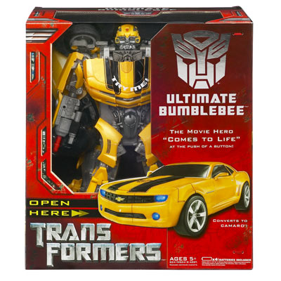 Transformers Ultimate Bumblebee in box