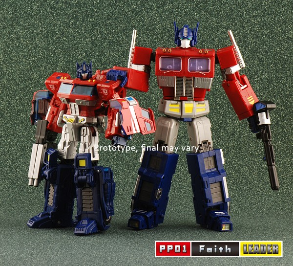 PP01 iGear Mini Masterpiece Optimus Prime