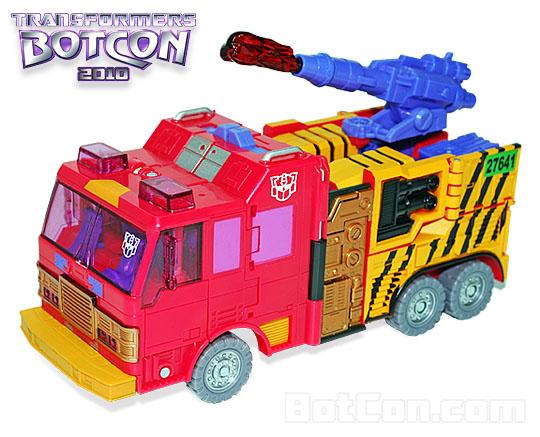 Official Botcon 2010 G2 Pyro
