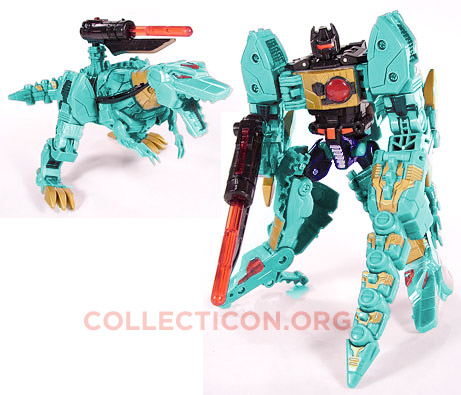 Transformers Generation 2 G2 Teal Grimlock