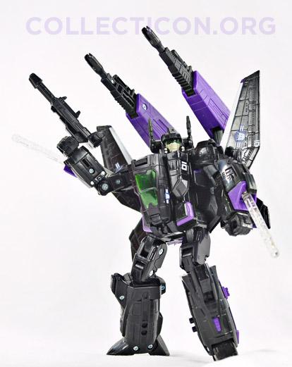 Transformers Henkei Dark Decepticon Jetfire
