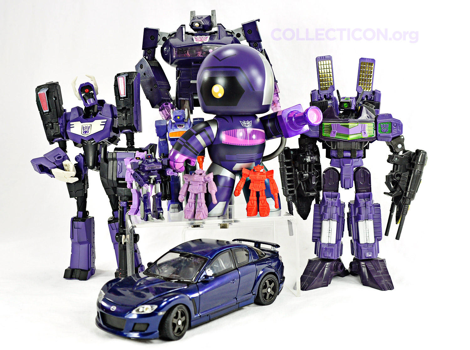 Transformers Shockwave and Laserwave