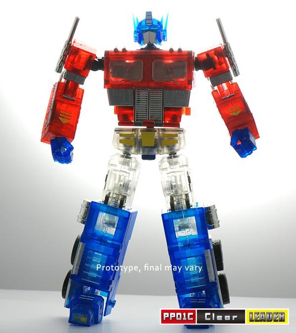 igear clear mini masterpiece optimus prime convoy