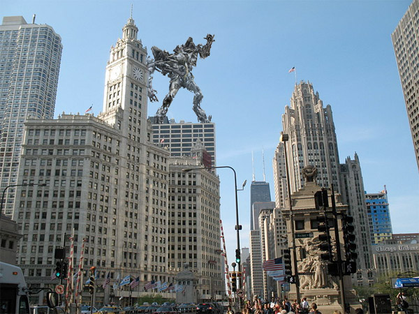 Transformers  Chicago Buildings