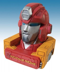 Transformers Rodimus Prime head bust