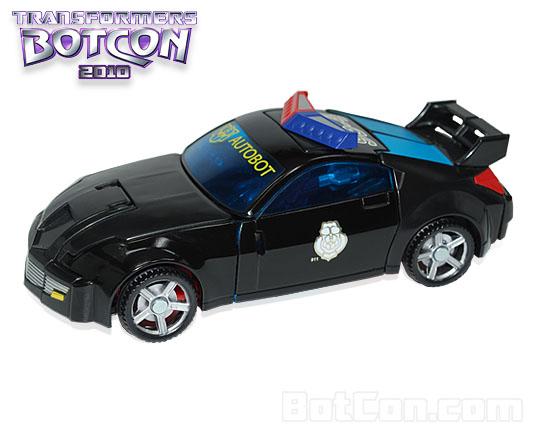 Botcon 2010 Black G2 Streetstar revealed