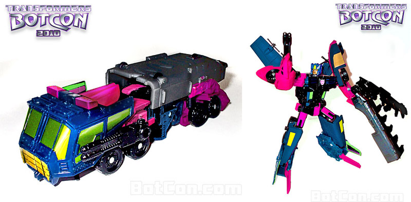 Transformers Botcon 2010 Convention exclusive deluxe Clench