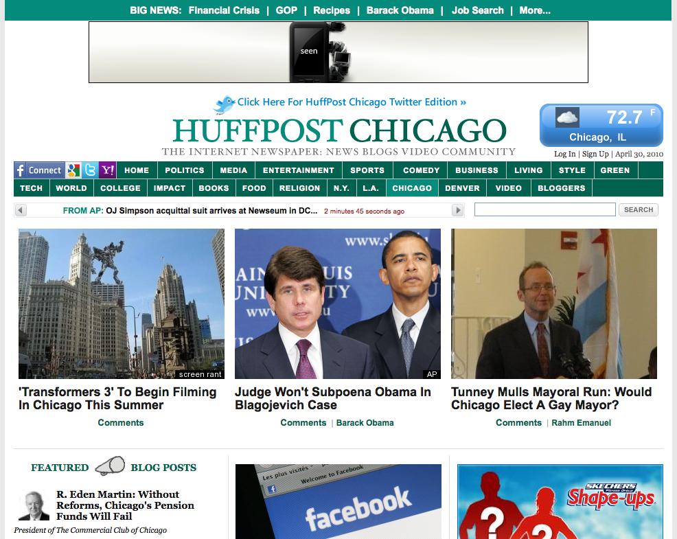 Collecticon image featured on Chicago's Huffington Post