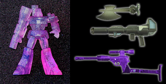 Transformers 2010 Sleep Mode Convoy Megatron accessories