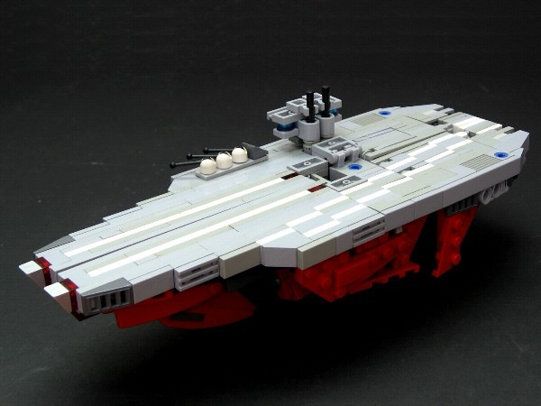 Generation 1 Broadside made of Legos