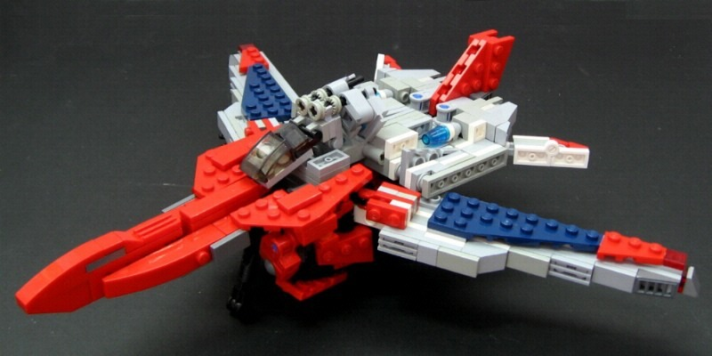 Transformers Lego Broadside