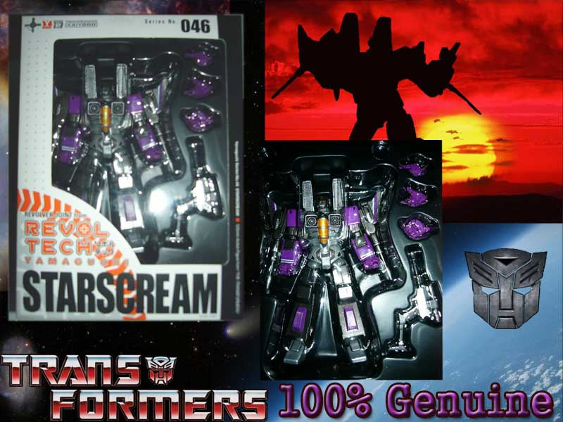 Revoltech Skywarp found on Ebay