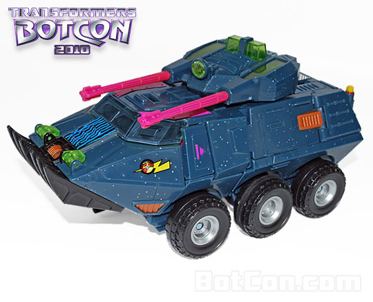 Botcon 2010 Generation 2 Clench in vehicle mode