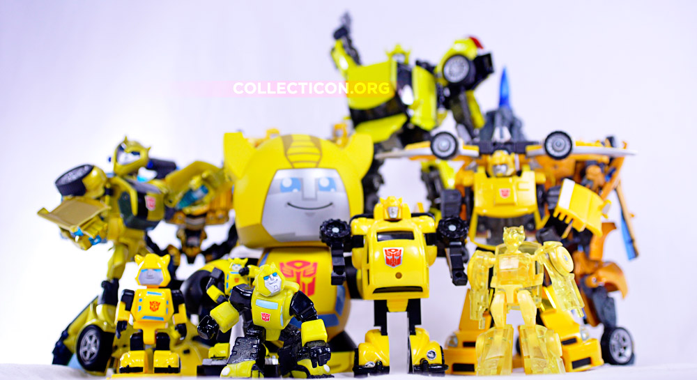 Transformers Bumble and Bumblebee figures