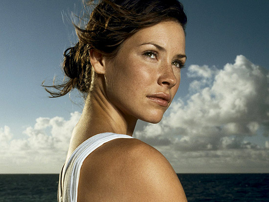 evangeline lilly with both - photo #41