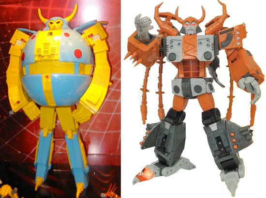 Generation 1 Hasbro Unicron Toy
