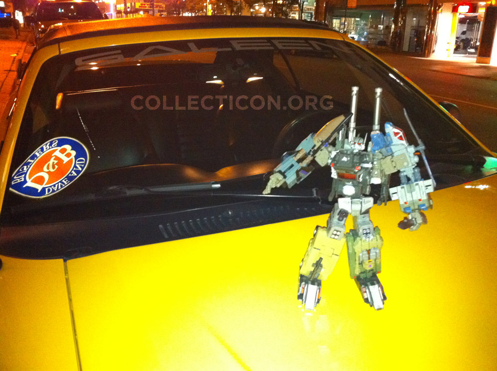 Fansproject Bruticus on Higa's Mustang