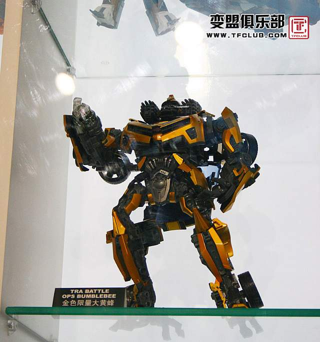 TakaraTomy Golden Battle-ops Bumblebee