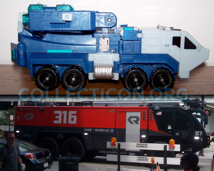 Is this Transformers 3 Ultra Magnus?