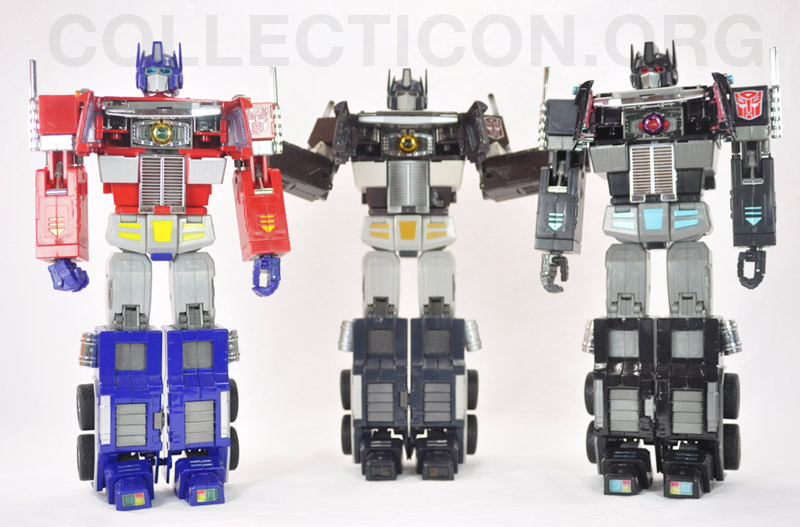 Transformers Masterpiece MP4S Convoy Sleep Mode