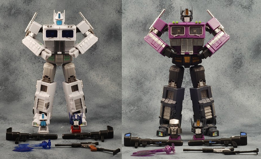 iGear Mini MP Ultra Magnus and Shattered Glass Convoy