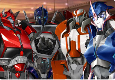 Transformers Prime will receive a toyline