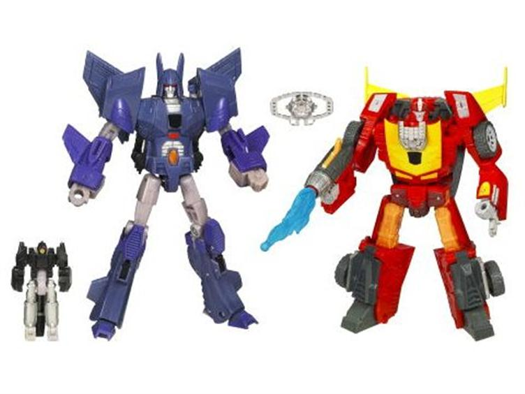 Cyclonus & Rodimus 2-pack announced – this time with matrix and rubsigns!