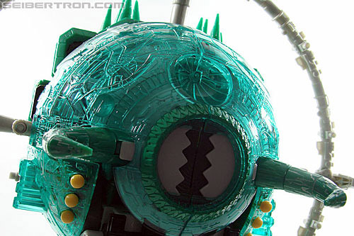 Transformers Micron Legend Green Unicron of Light