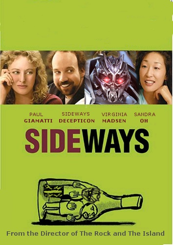 Transformers Sideways