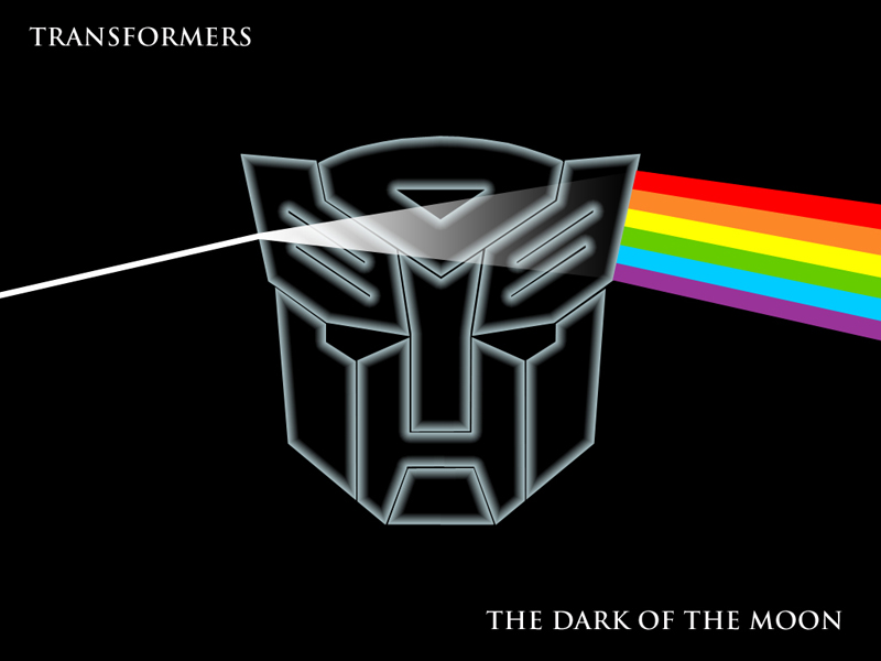 "Initial fan reactions to Transformers 3 titled ""The Dark of The Moon"""
