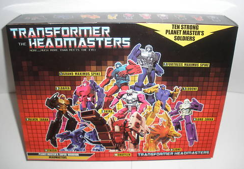 Transformers Headmaster Knock off Giftset