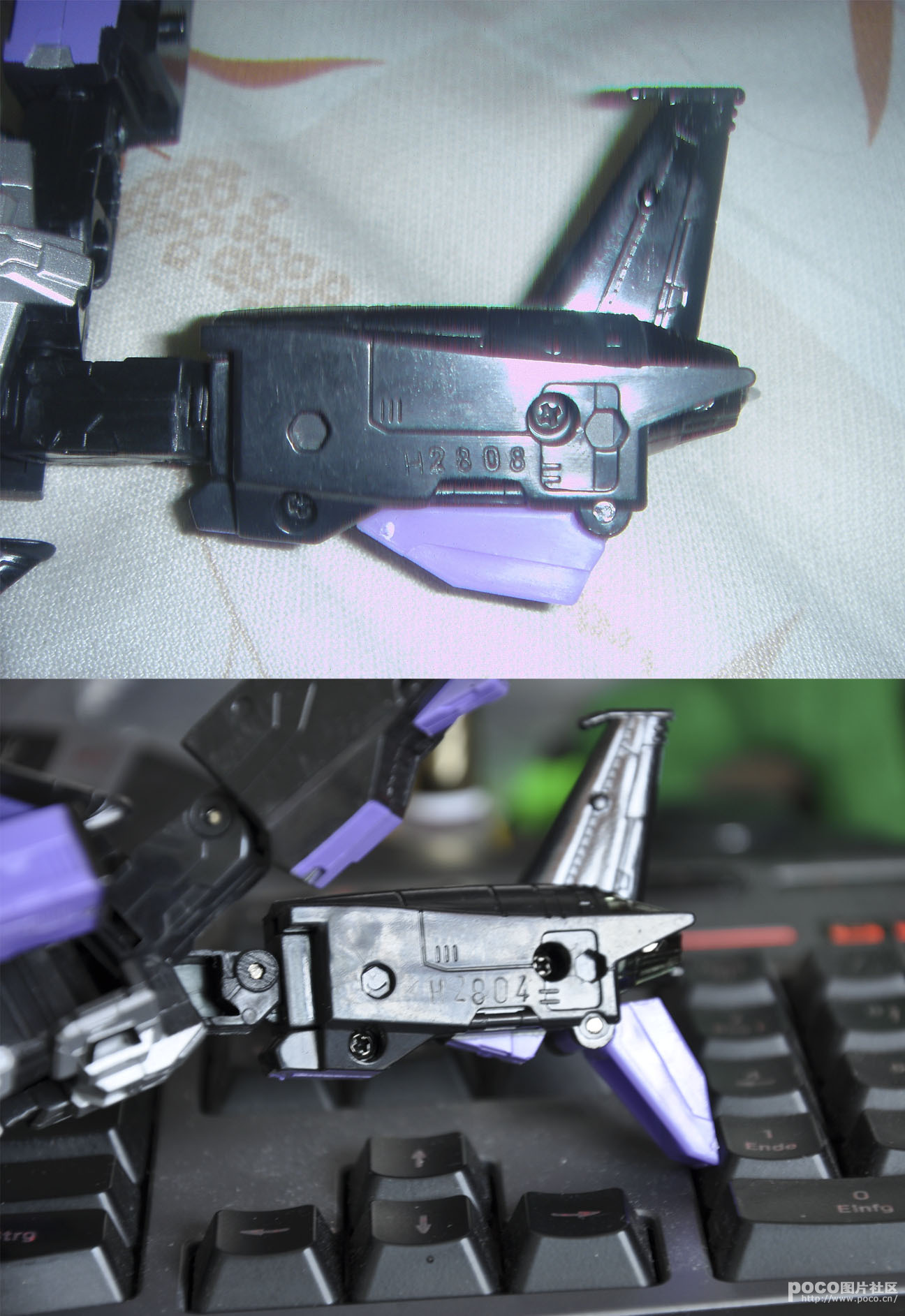 Henkei Skywarp compared to it's latest knock off