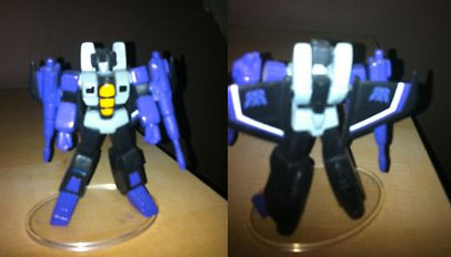 Lucky Draw PVC SCF Skywarp from Japan