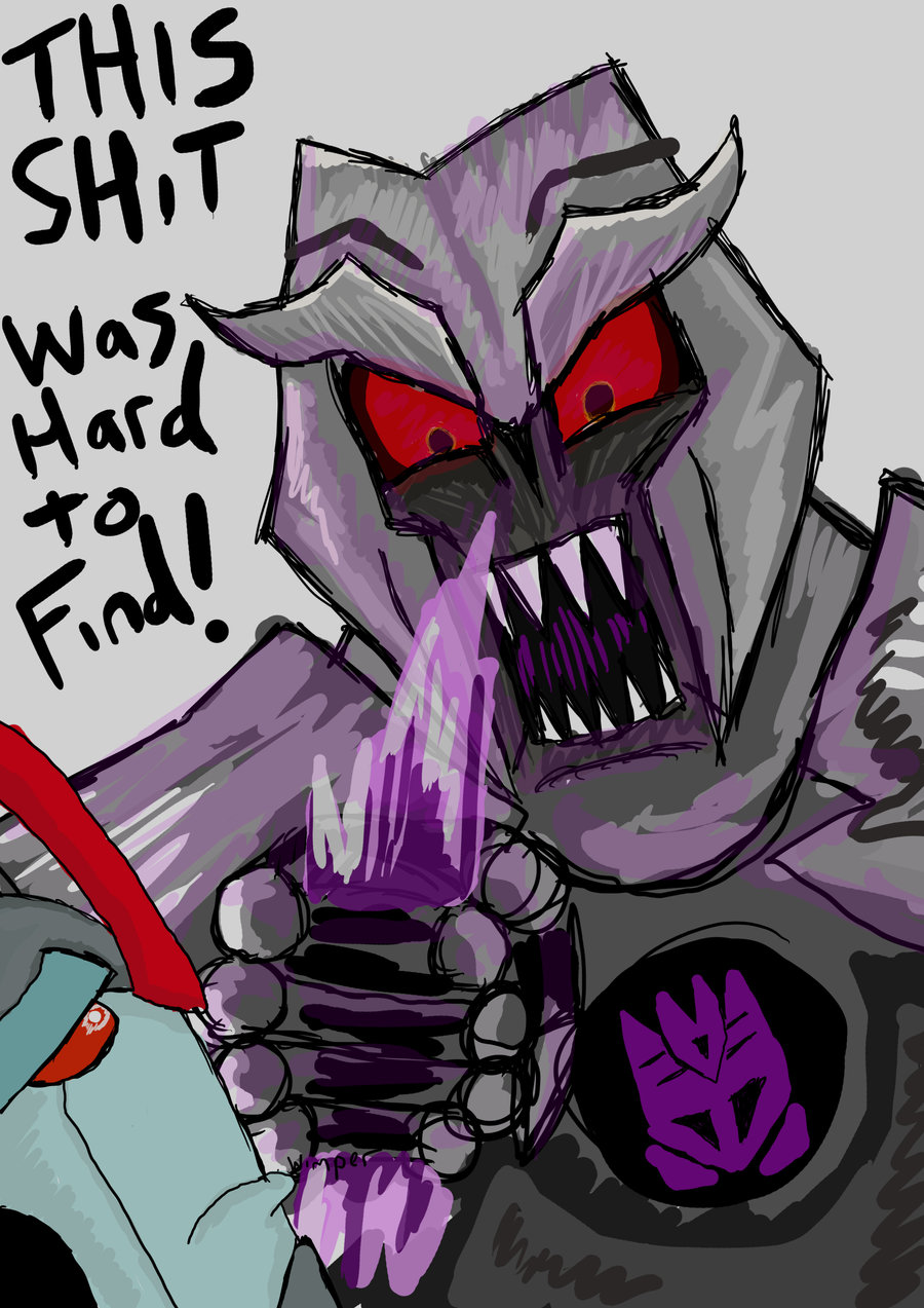 Transformers Prime Megatron explains Dark Energon to Starscream by Masterjakeman