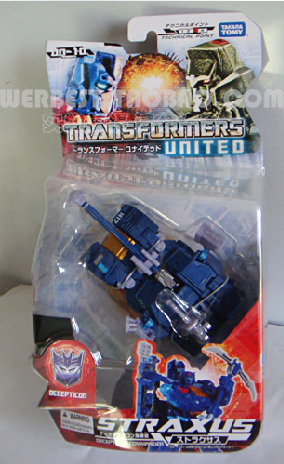 Transformers United Straxus in package