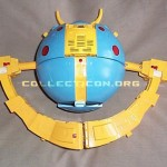G1 Unicron toy prototype planet mode half transformed