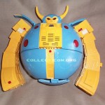 G1 Unicron toy prototype planet mode head