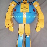 G1 Unicron toy prototype robot mode standing