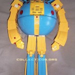 G1 Unicron toy prototype robot mode standing front