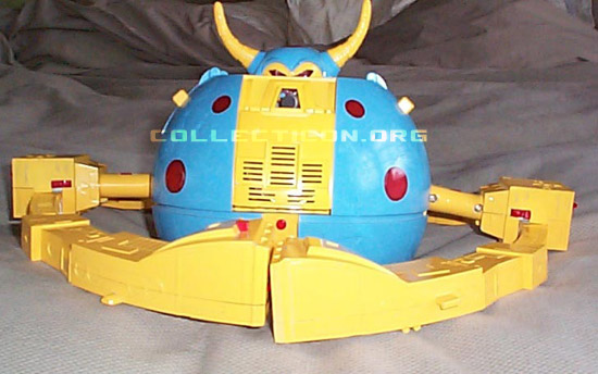 Generation 1 Unicron prototype head in planet mode