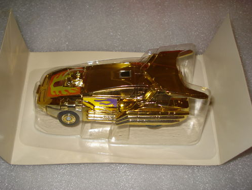 Gold Chrome G1 Hot Rod MIB