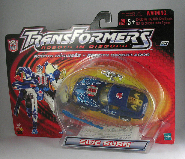 Transformers Robots In Disguise Sideburn