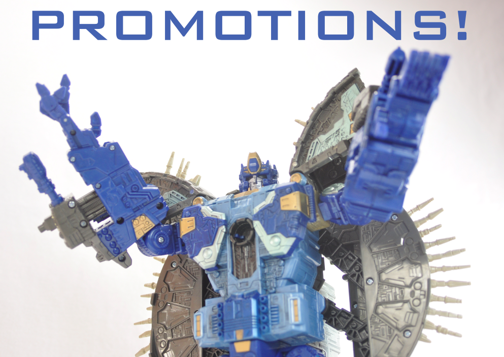 TakaraTomy 2010 Creator Primus gives promotions