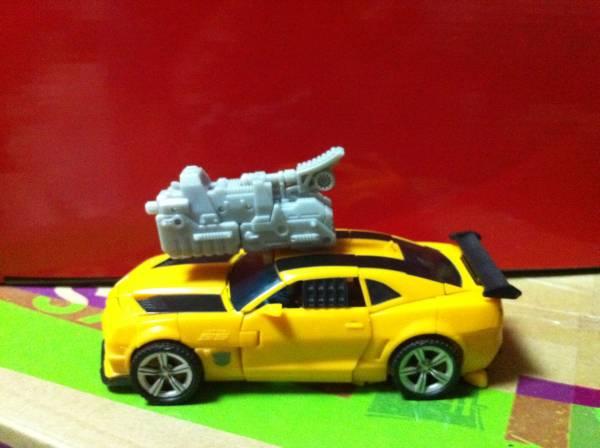 Transformers 3 Dark of the Moon Bumblebee prototype car