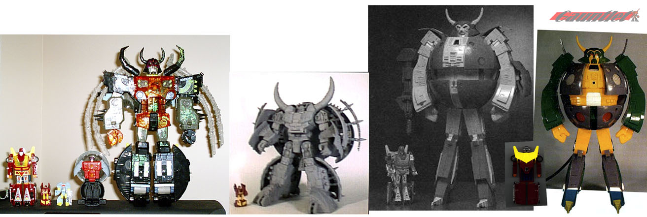 Unicron size comparison 
