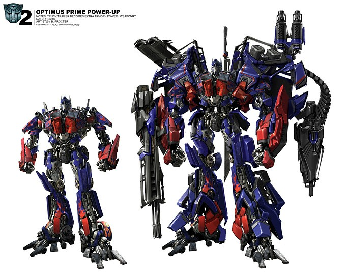Super Optimus Prime by Ben Procter
