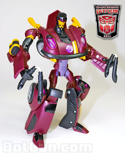 Botcon 2011 set is made up of Animated Stunticons!