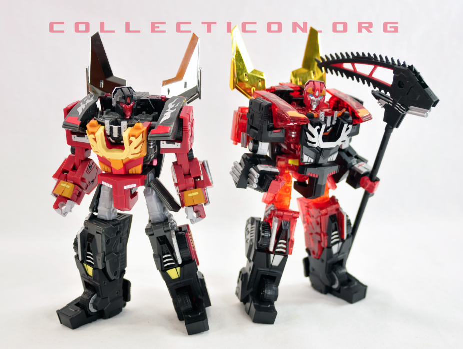 Fansproject Protector and Shadow Scyther mixed armor