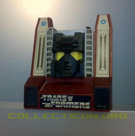 Transformers Generation 1 Starscream piggy bank